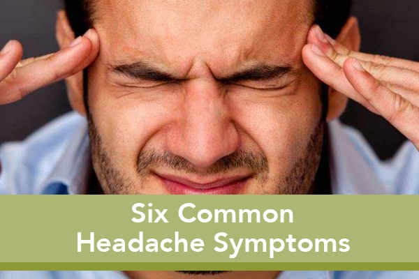 6common headache types