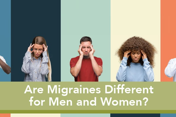 migraines for men and women